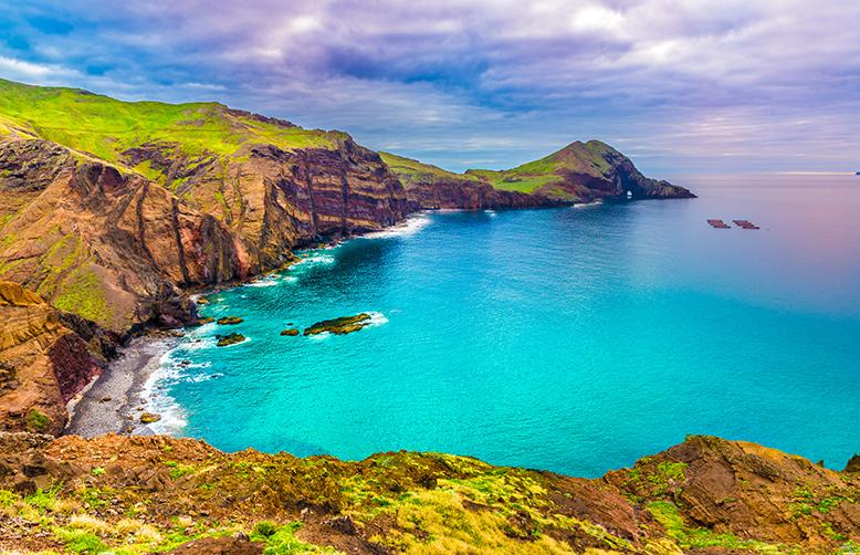 Madeira Portugal-Wild beach at Ponta de Sao Lourenco-1