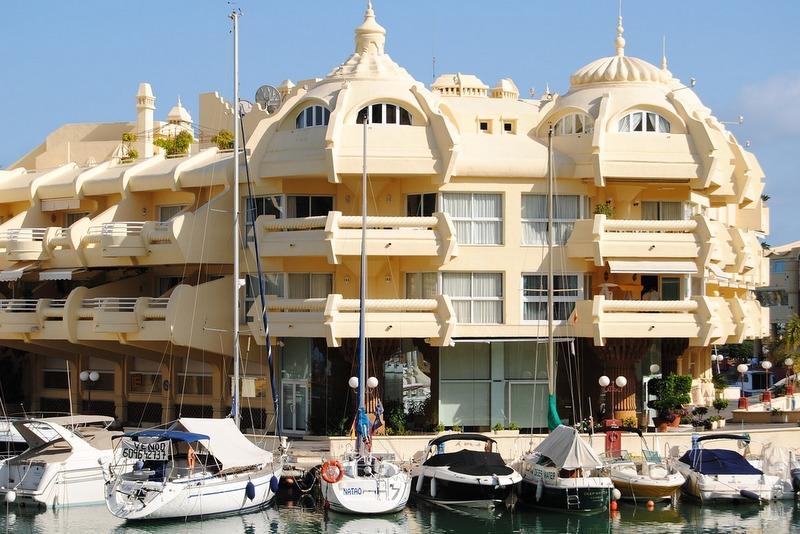 Spain holidays Benalmadena port