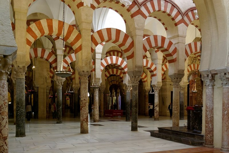 Spain travel guide Cordoba mezquita interior