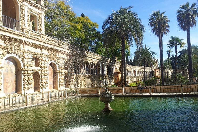 Spain travel guide Seville Alcazar