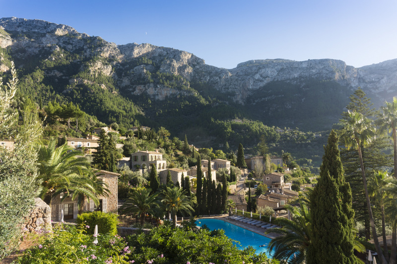 View from Belmond La Residencia