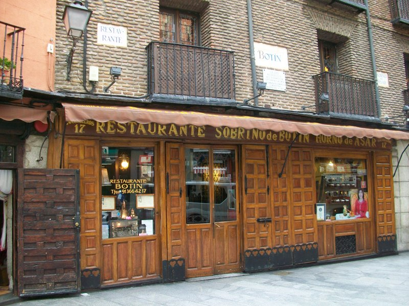 Madrid Travel Guide Restaurant Botín