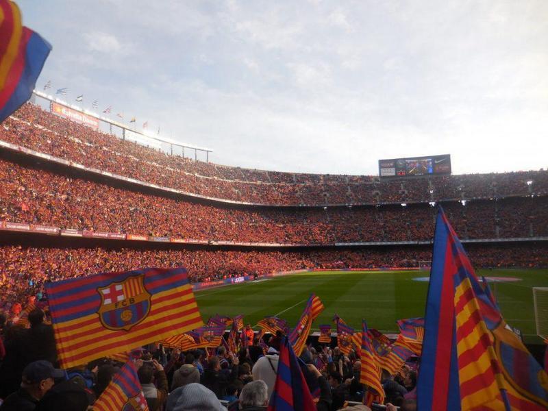 Barcelona travel guide Camp Nou