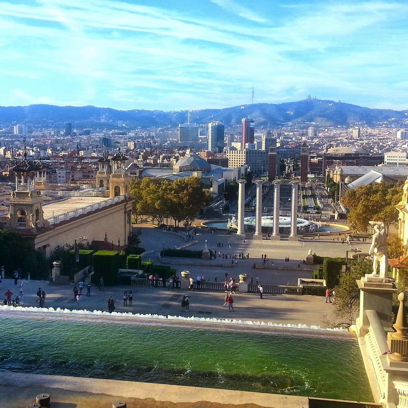 Barcelona travel guide Palau Nacional