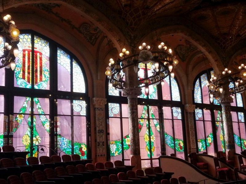 Barcelona travel guide Palau de la Musica Catalana-1