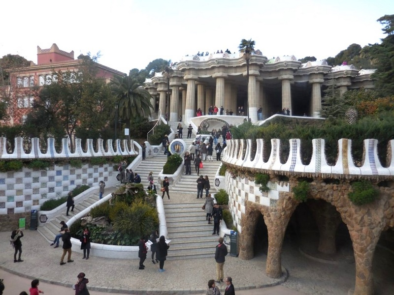 Barcelona travel guide Park Guell