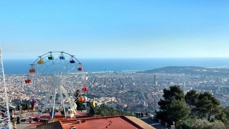 Barcelona travel guide Tibidabo Park
