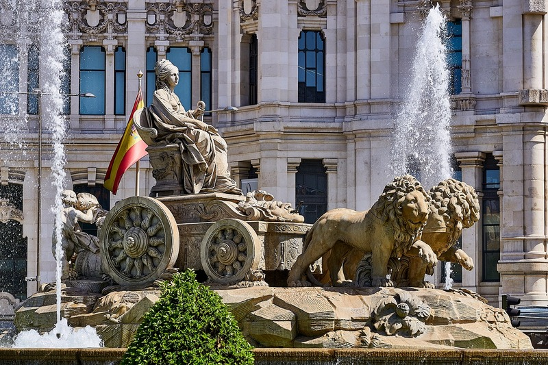 Madrid Cibeles Fountain