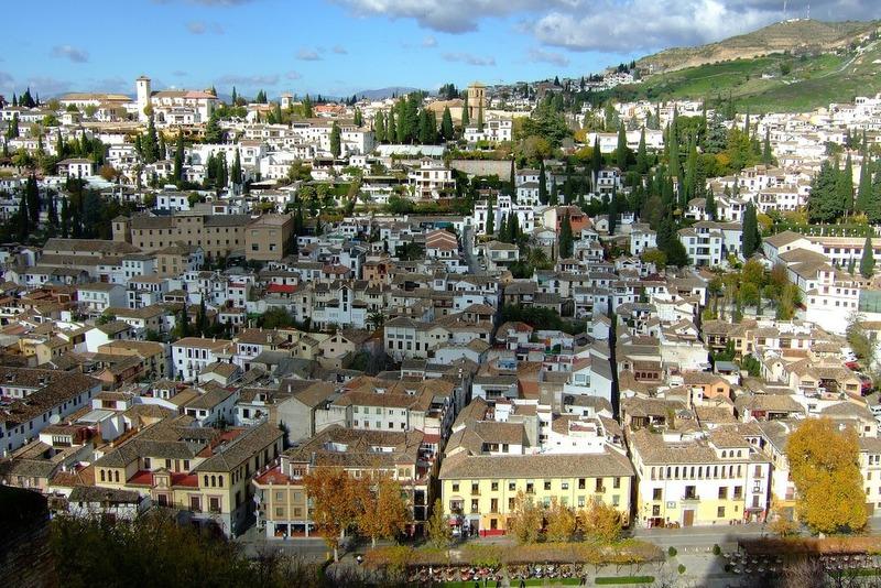 Spain travel Granada Spain views
