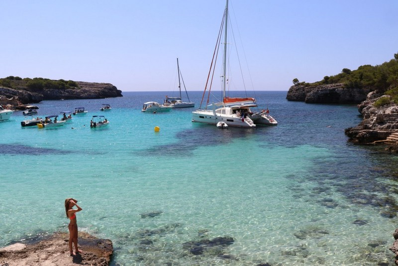 Spain travel guide Menorca Cala Macarella