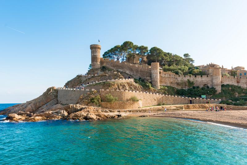 ossa de Mar Medieval Castle At Sea ed4