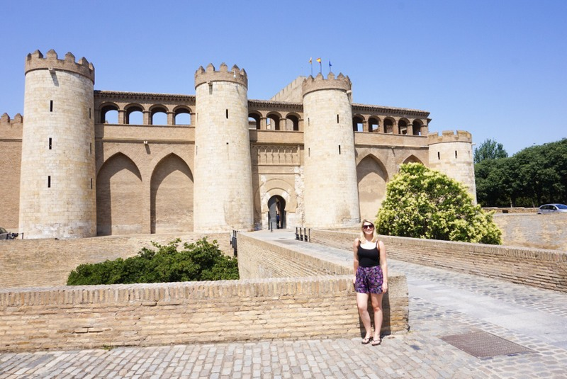 Zaragoza Spain Aljaferia palace castle Ellie Quinn