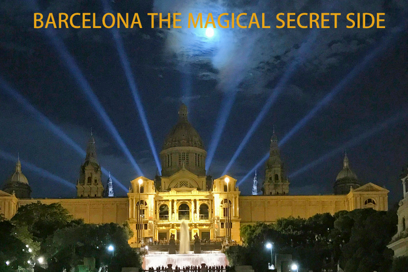 Spain Barcelona magical secret side