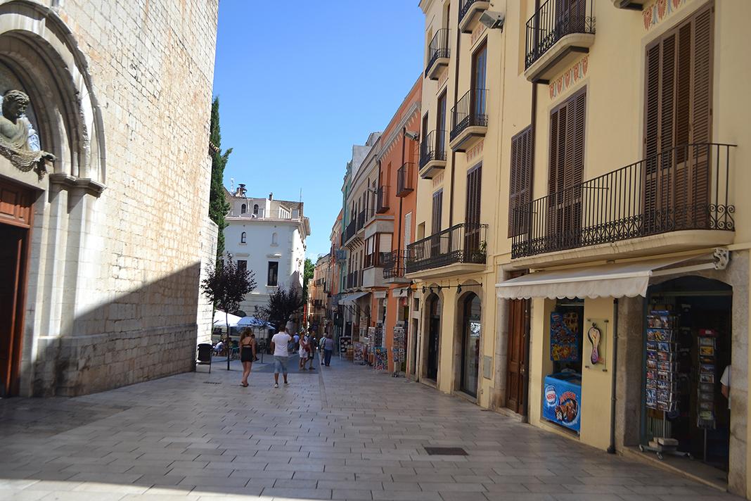 Dali Triangle-Figueres Streets Catalonia