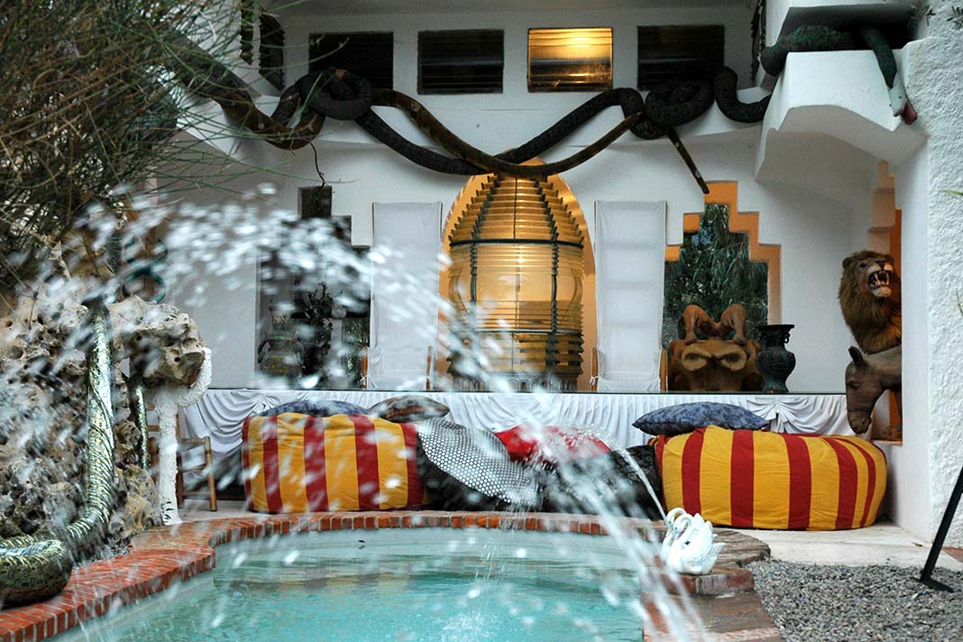 Dali Triangle phallic shaped swimming pool