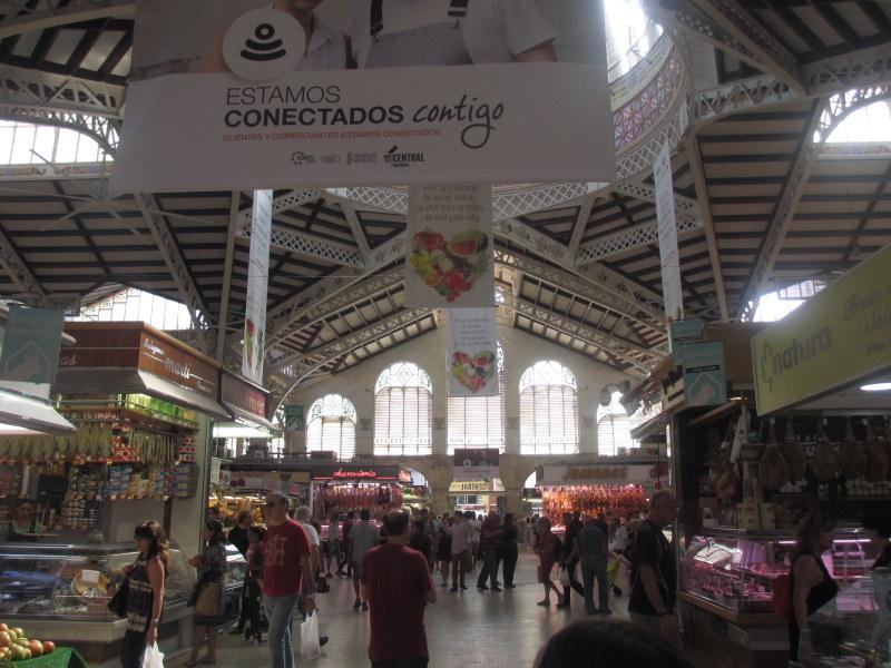 Valencia Spain travel guide- Mercat Central