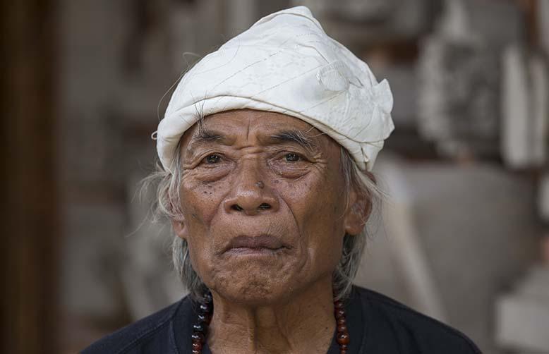 Balinese medicine man