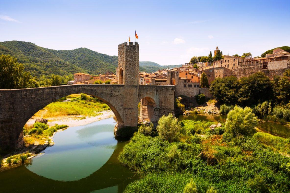 Besalu Spain Medieval Town Catalonia