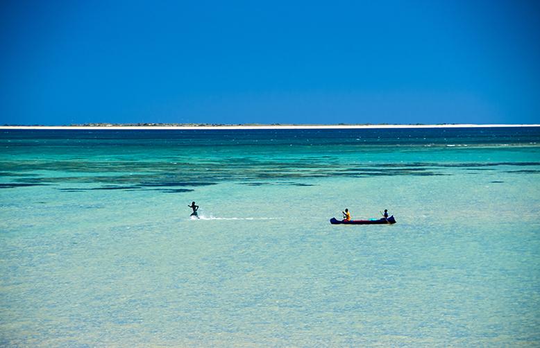 Madagascar-Anakao village Beautiful coastline