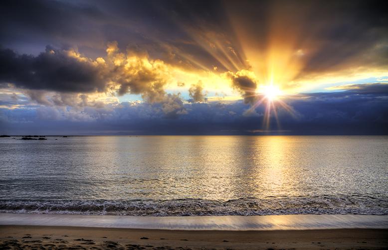 Madagascar Sunset ocean