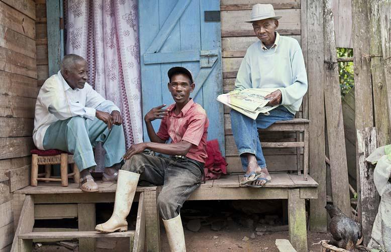 Madagascar friendly people