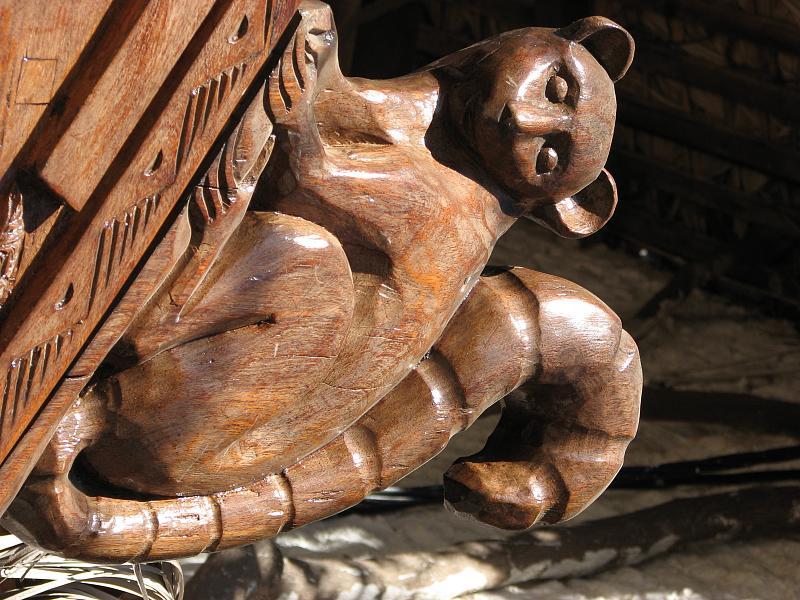 Madagascar wood carving