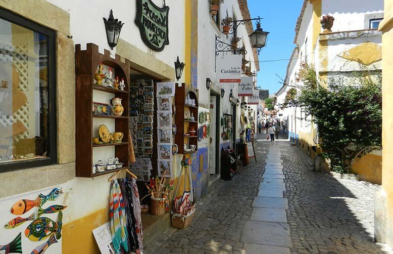 Obidos Silver Coast Portugal