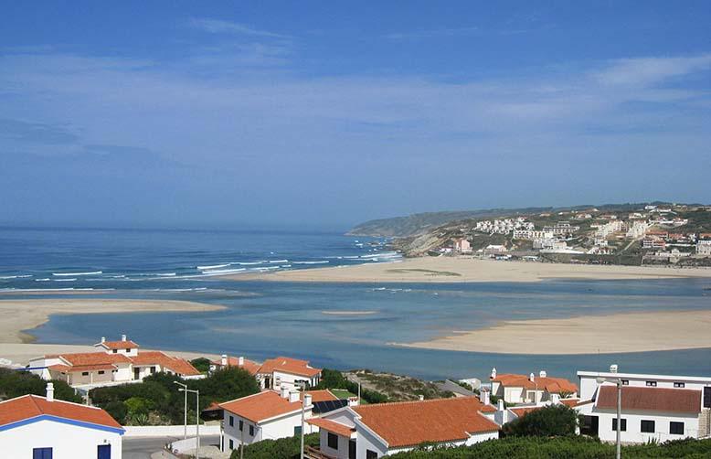 Obidos lagoon Portugal