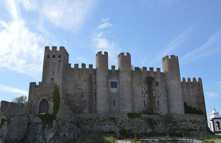 Obidos medieval castle Portugal