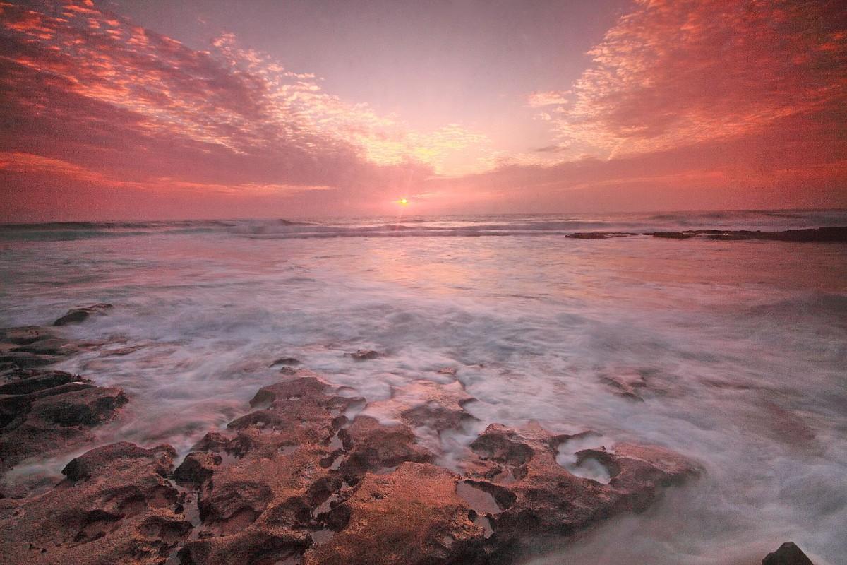 Silver Coast Portugal Mafra Ericeira rose sunset