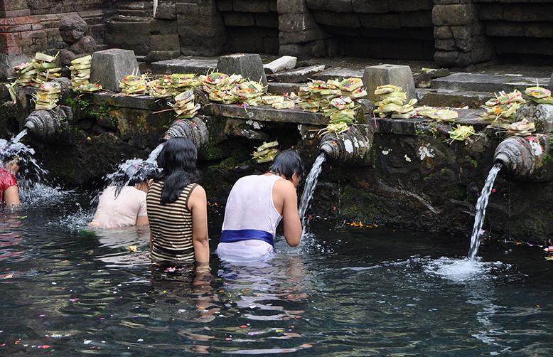 Tirtha Empul Temple - Purification Pool, Bali, Indonesia