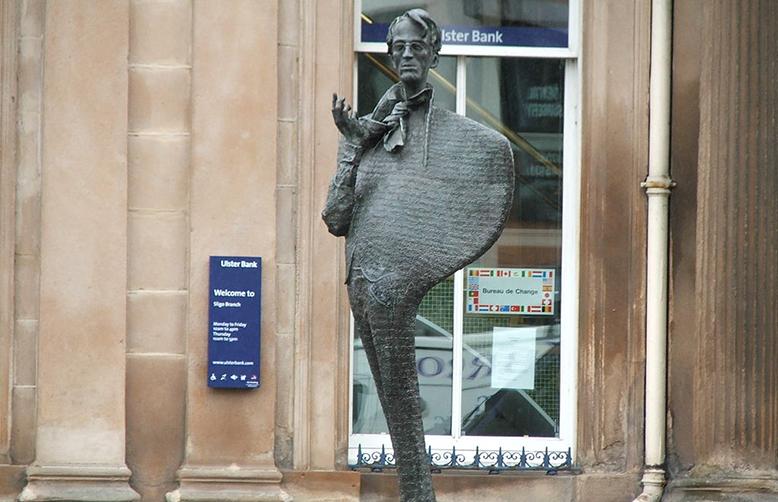 Yeats inspirational Ireland Yeats statue Sligo