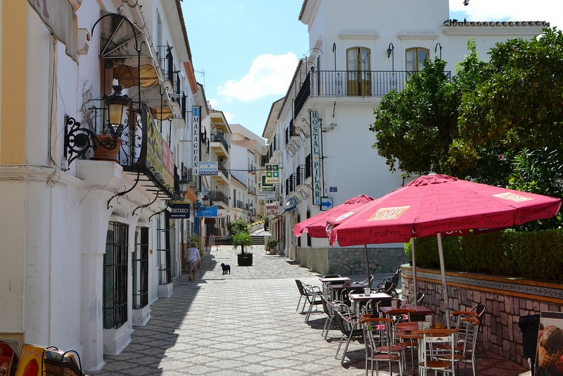 Estepona Spain old town
