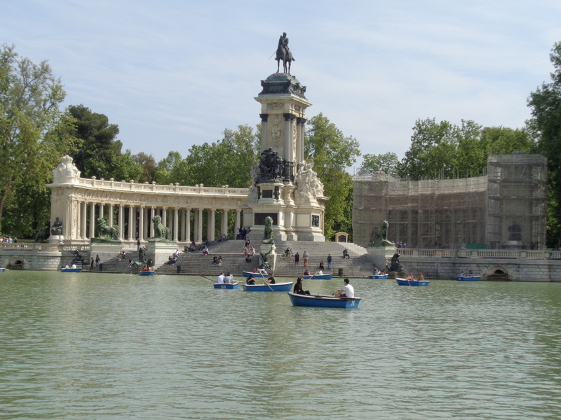 Madrid Travel Guide Retiro Park