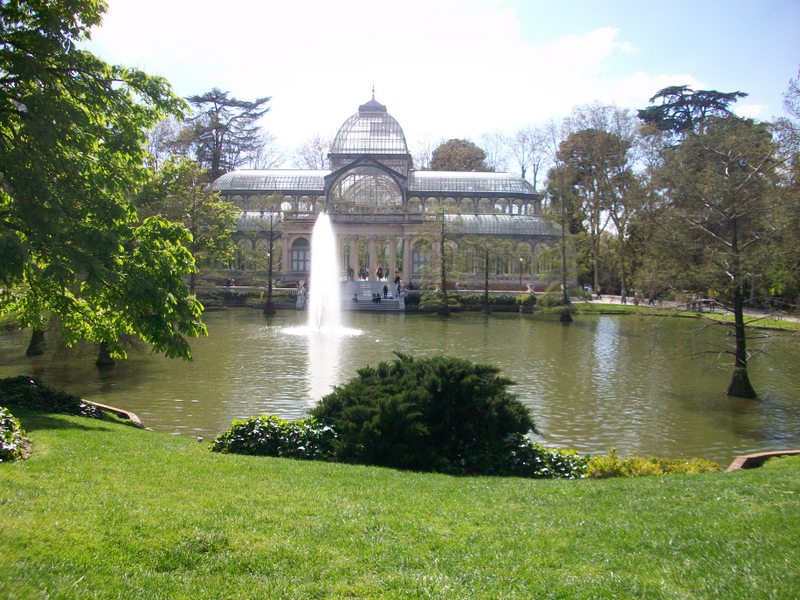 Madrid Travel Guide Retiro Park Crystal Palace
