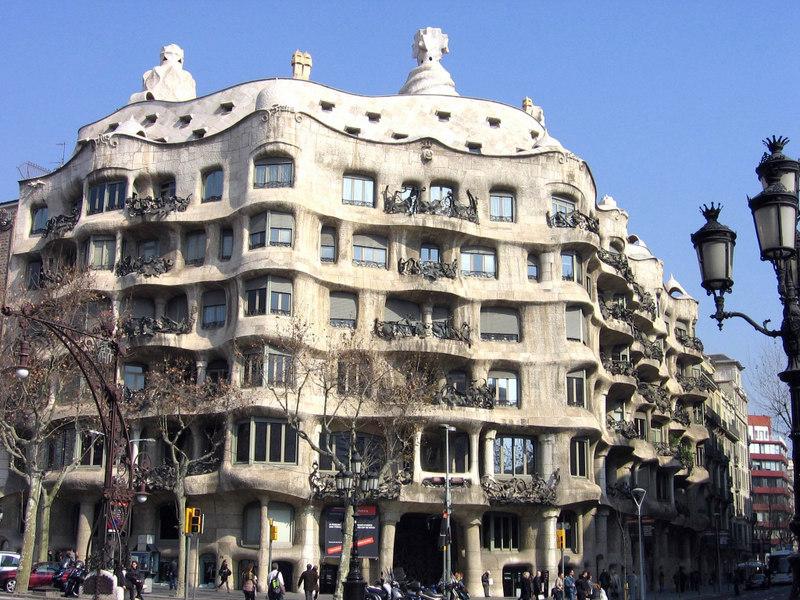 Barcelona Casa Mila-La Pedrera