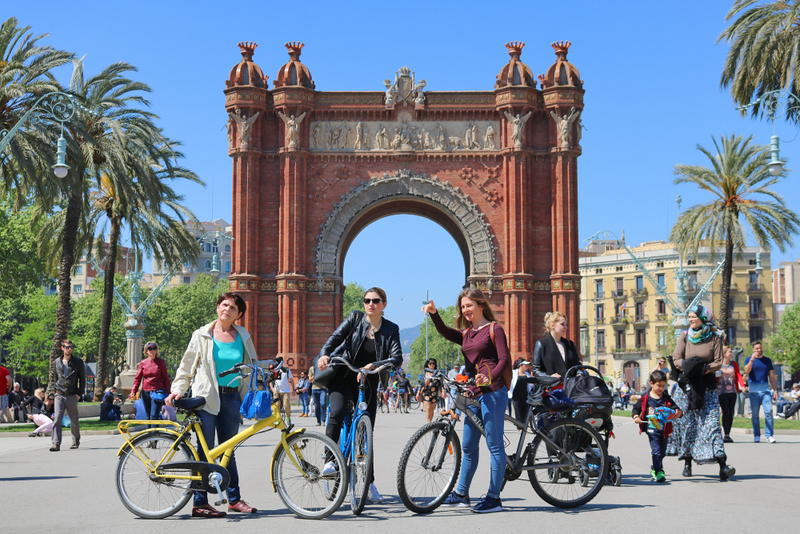 Barcelona Oculta Bicycle Route