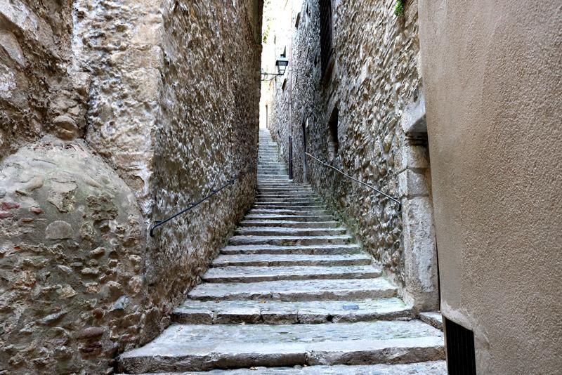 girona old streets