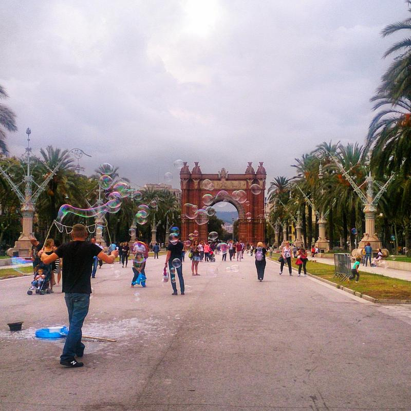 Barcelona travel guide Arc de Triomf