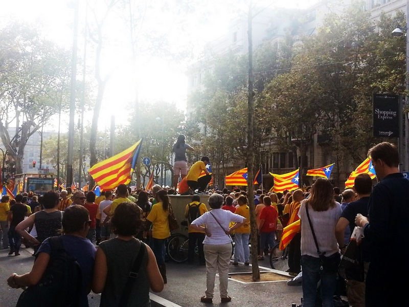 Barcelona travel guide Catalonia protests