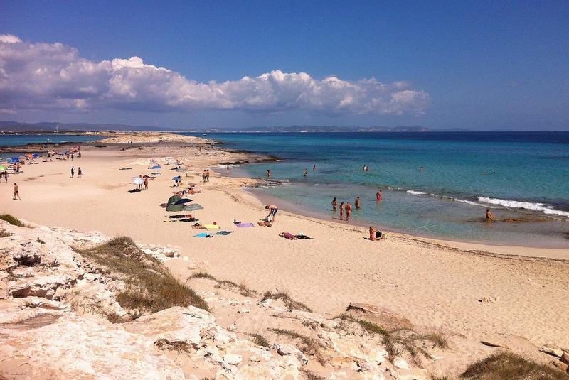 Formentera idyllic beaches