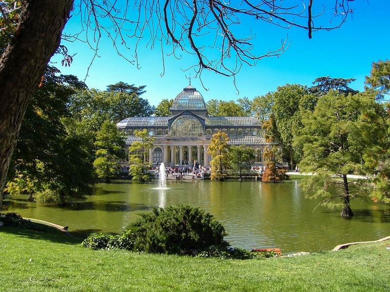 Madrid Crystal Palace Retiro Park