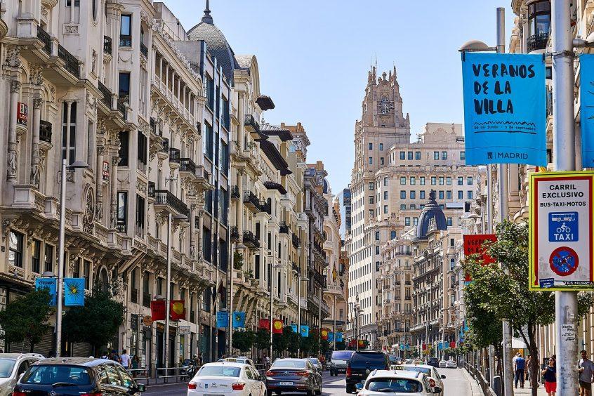 Madrid travel guide Gran Via