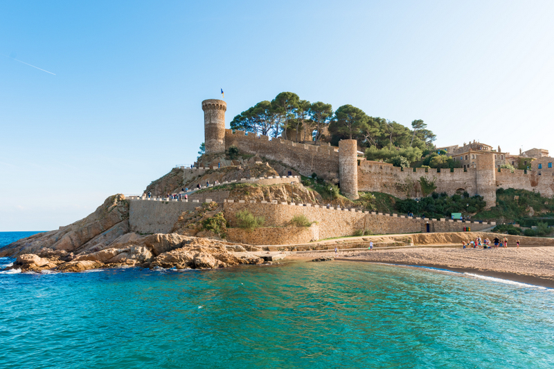 ossa de Mar Medieval Castle At Sea ed4