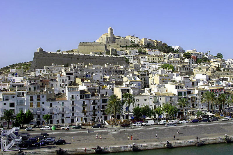 spain travel guide dalt vila ibiza town ibiza