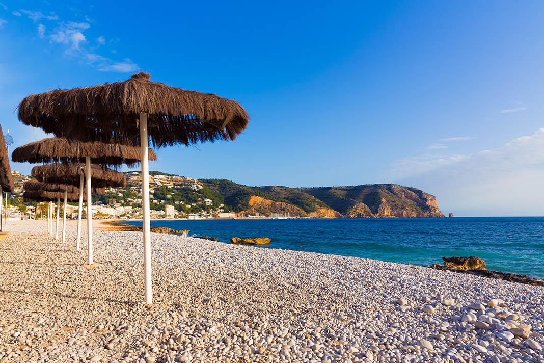 Javea for expats Xabia playa Benissero beach Muntanyar
