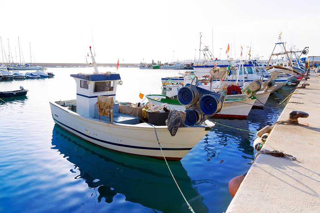 Javea relocatio destination Fishing Harbour Spain