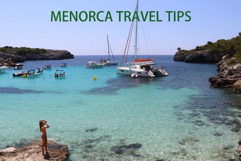 Spain Menorca travel tips