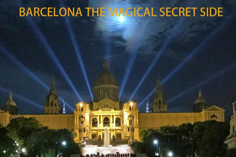 Spain Barcelona magical secret side
