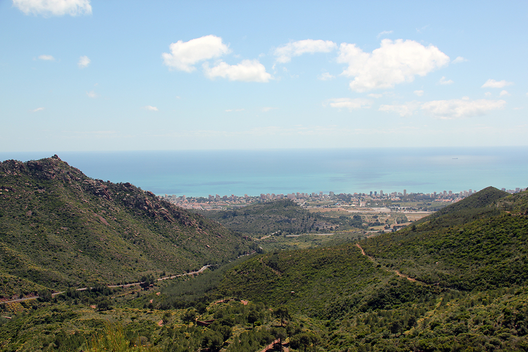 castellon wine route landscapes desierto de las palmas views